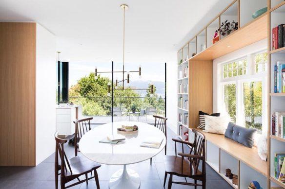 Super Create A Window Seat By Surrounding It With A Built In Inzonedesignstudio Interior Chair Design Inzonedesignstudiocom