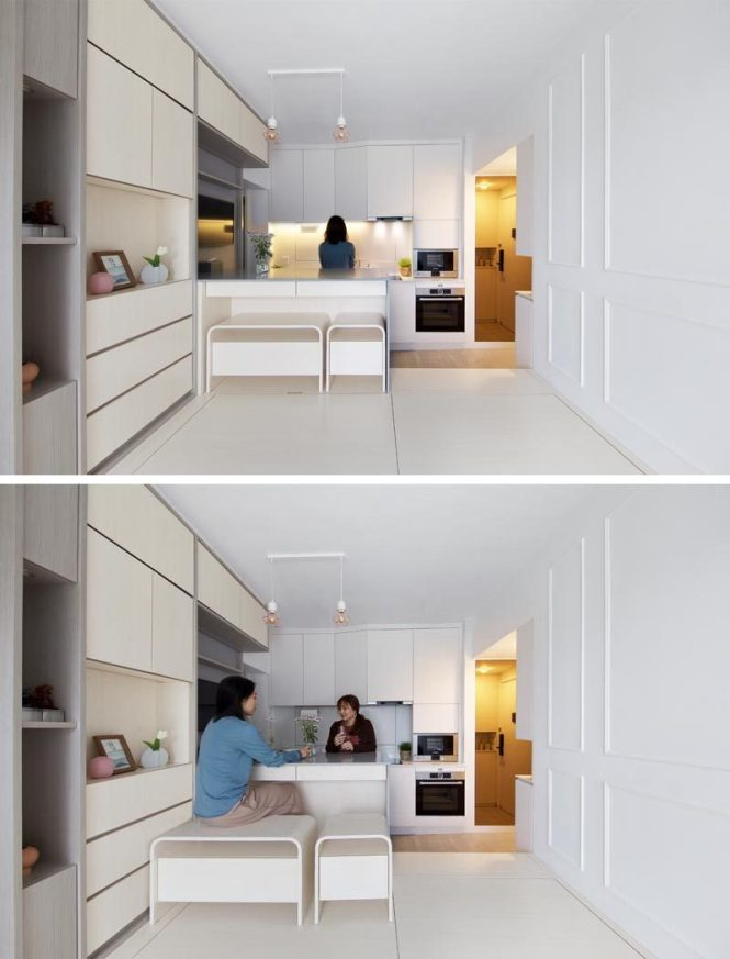 Smart Use Of Its 492 Square Feet