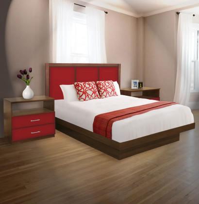 madison king size platform bedroom set 4 piece