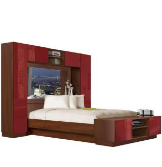 bedroom storage contempo space