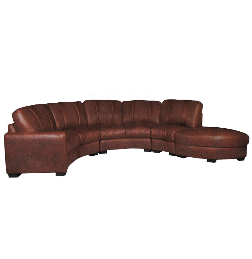Curved Sofas And Loveseats