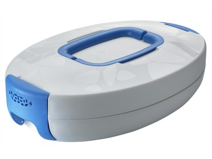 chef carrier ovale blu