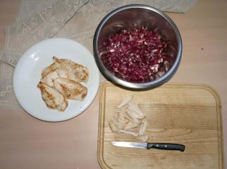 insalata di radicchio