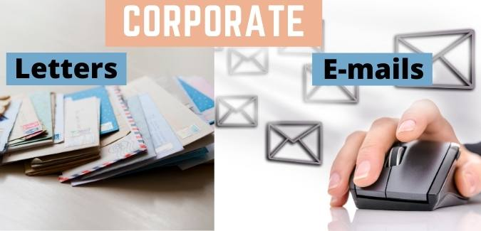 Corporate letters and email writing services by content writing company