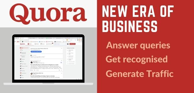 Quora answer writing for business