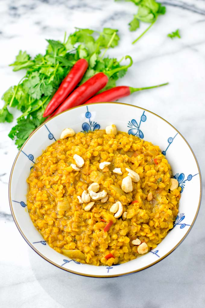 This vegetarian Indian recipe is perfect to be made in the instant pot this
