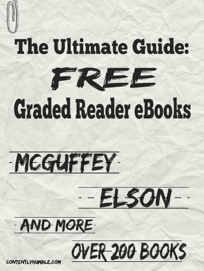 Ultimate Guide FREE Graded Reader eBooks McGuffey, Elson and MORE