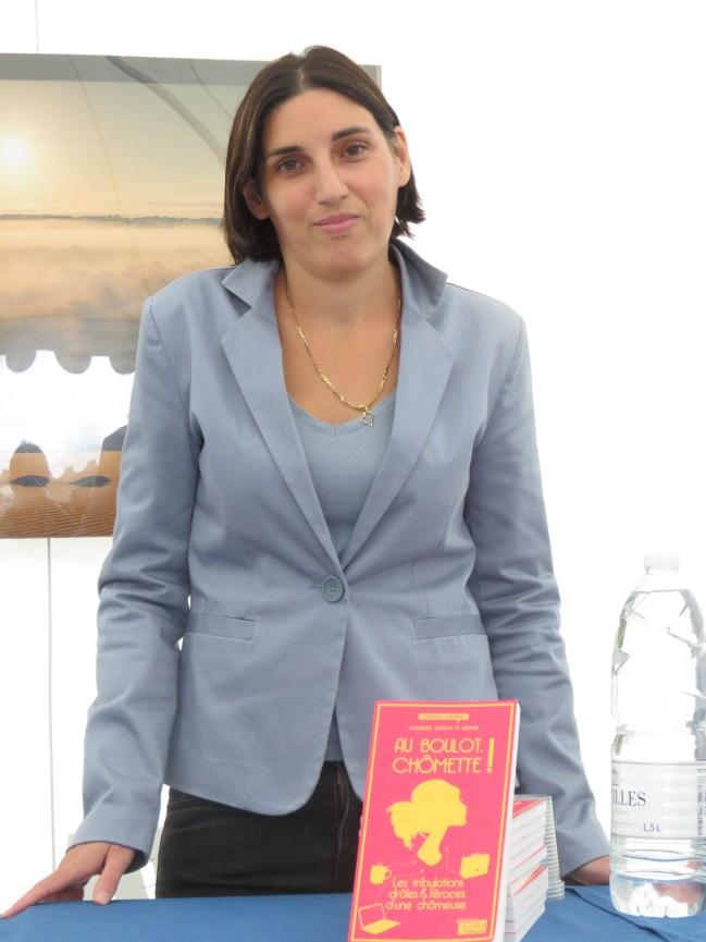 Alexandra Le Dauphin Au boulot chomette