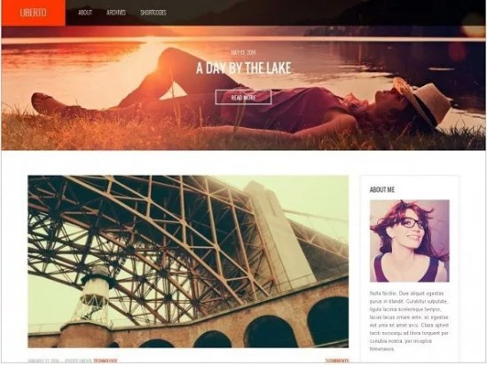 template wordpress