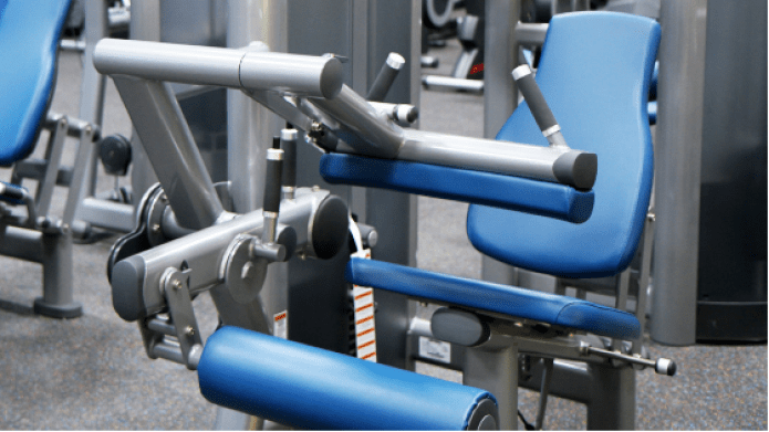 Gym criteria includes well-maintained, working equipment