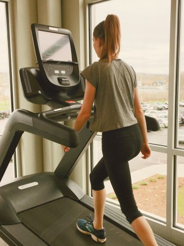 Treadmill correct form