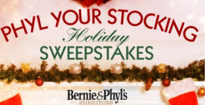 Phyl Your Stocking Holiday Sweepstakes