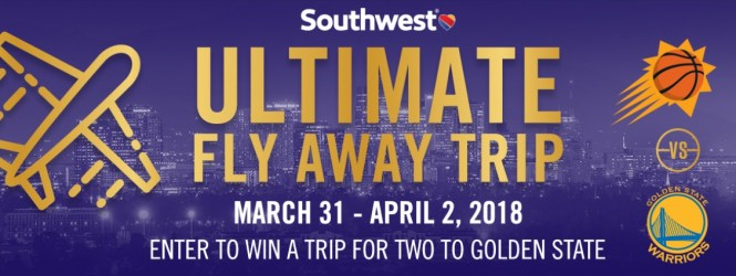 Chance To Win A Round Trip Air Travel on Southwest Airlines