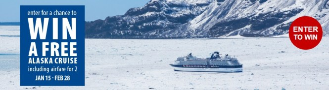 "CruiseShipCenters ""Sea The World"" Sweepstakes - Chance To Win Alaska Cruise"