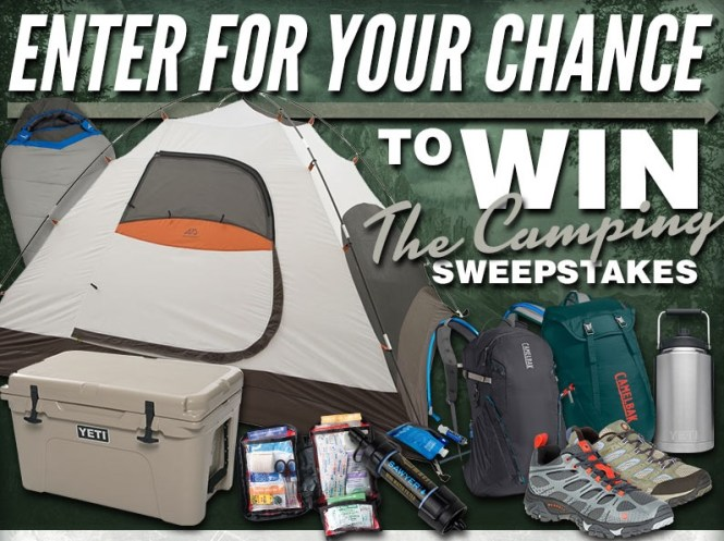 MidwayUSA Spring Camping Sweepstakes 2018 - Chance To Win A Spring Camping Prize Package