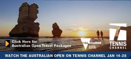 Tennis Channel's 2019 Australian Open Trip Giveaway