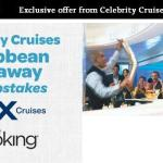 Celebrity Cruises Caribbean Getaway Sweepstakes – Chance to Win a 7-Night Caribbean Cruise for Two