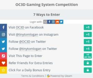 OC3D Gaming System Rig Competition – Chance to Win OC3D Themed Gaming Rig