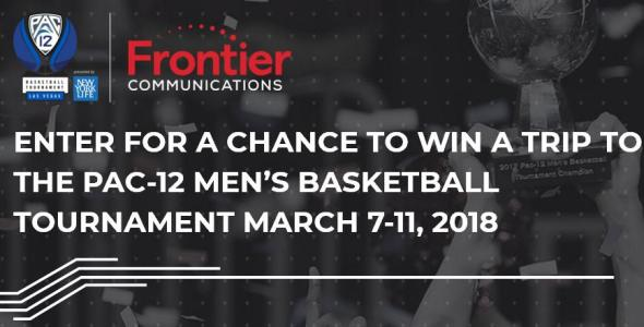 Frontier Pac-12 Networks Sweepstakes – Chance to Win a Trip Prize