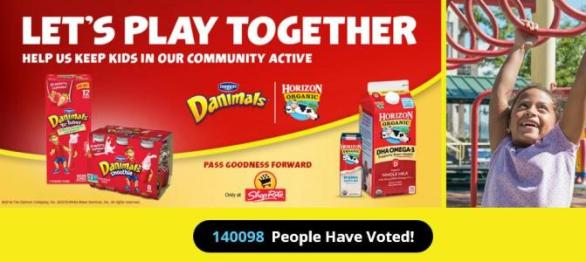 Dannon Shoprite School Contest –Stand Chance To Win $25000 Grant