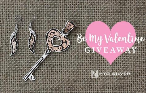 The 2018 Be My Valentine Giveaway – Stand Chance to Win Rose Gold - Key to My Heart Set