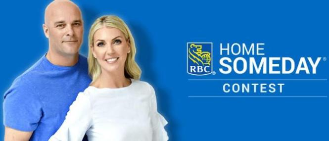 HGTV RBC Home Someday Contest – Chance to Win CDN$25,000 Canadian Dollars
