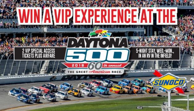 Times News DAYTONA 500 Prize Package Giveaway Sweepstakes – Stand Chance to Win a 2018 DAYTONA 500 Prize Package and Other More