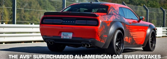 AVS Supercharged Win An All-American Car Sweepstakes – Stand a Chance to Win 3-DAY2-NIGHT TRIP