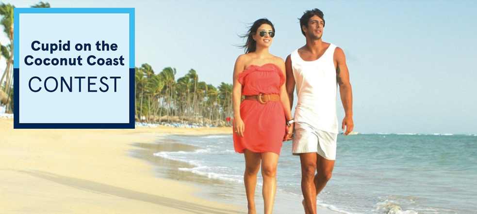 Air Transat, Cupid on the Coconut Coast Contest - Enter to Chance to Win a Trip To Punta Cana For Two value $3000