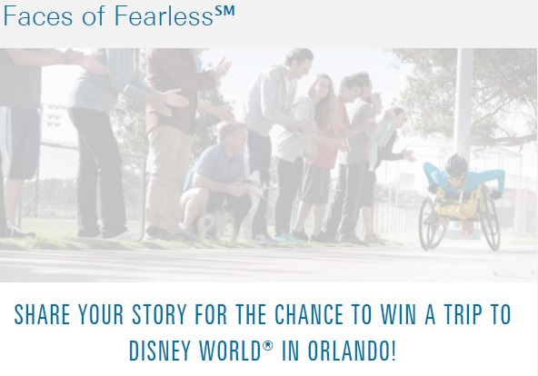 Blue Cross Blue Shield Faces Of Fearless Contest – Enter For Chance To Win A Trip To Disney World