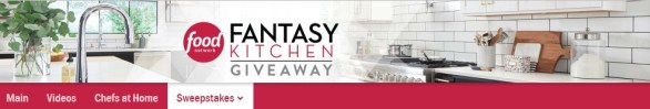 Food Network Fantasy Kitchen Sweepstakes - Grab A Chance to Win Grand Prize $250000
