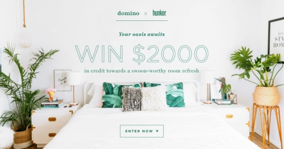 Hunker x Domino Sweepstakes – Enter For Chance To Win $2000