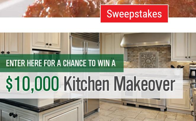 Rosina Recipes Kitchen Makeover Sweepstakes – Win $10,000 ...