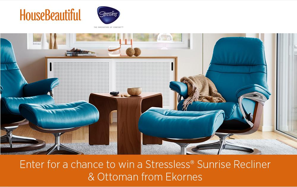 House Beautiful Ekornes Sweepstakes – Enter For Chance To Win