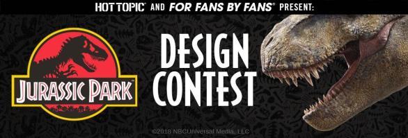 For Fans by Fans Jurassic Park Fan Art Design Contest - Win A VIP Trip