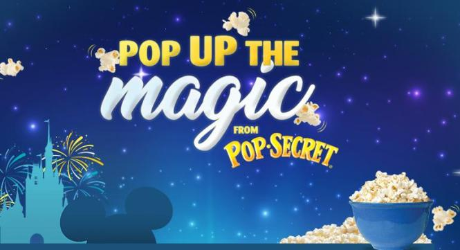 Pop Secret Sweepstakes – Stand Chance to Win a Trip to Walt Disney World Resort Orlando, Florida