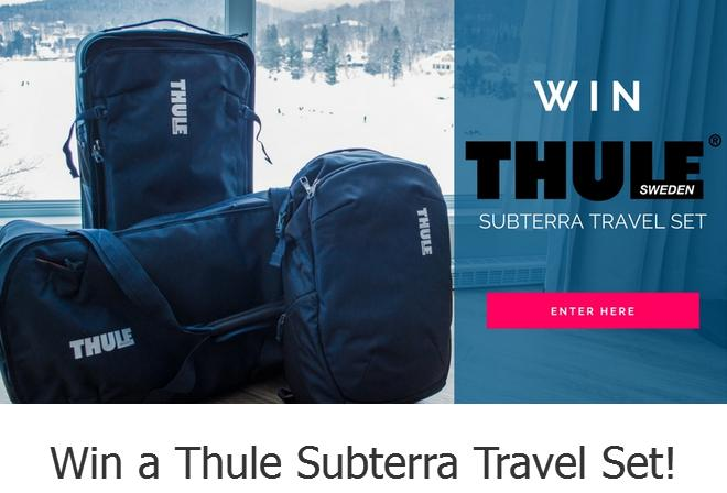 Easy Planet Travel's Sweepstakes- Enter To Chance To Win a Thule Subterra Travel Set