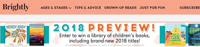Penguin Random House 2018 Preview Sweepstakes – Stand Chance to Win 50 Children's Books