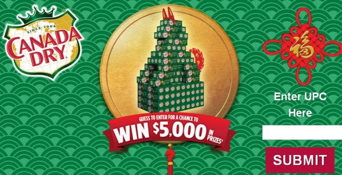 The Canada Dry Year of the Dog Contest – Stand Chance to Win Gift Cards, T Shirt, Baseball Cap