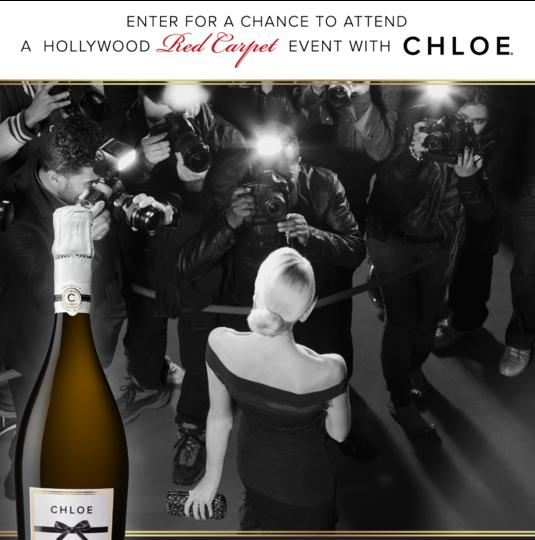 The Chloe Wine Collection Red Carpet Sweepstakes – Stand a Trip to Los Angeles, California