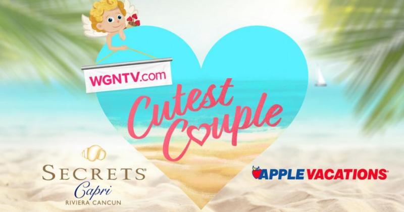 WGN TV Cutest Couple Contest 2018 – Stand Chance to Win a Trip to Secrets Capri Riviera Cancun