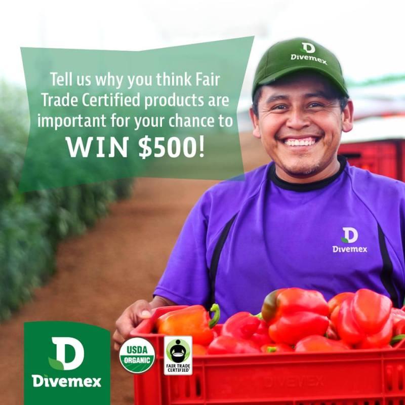 Divemex Fair Trade Sweepstakes - Enter To Win $500 Pre-Paid VISA Gift Card