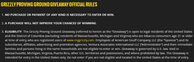 Grizzly Proving Ground Giveaway – Stand Chance to Win A 4 days and 3 Nights Trip to Ox Ranch in Texas, Gift Cards