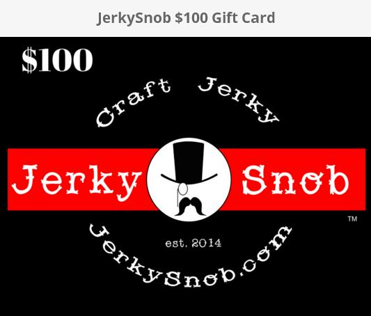 Jerky Snob Contest – Stand Chance to Win $100 Gift Card Prize