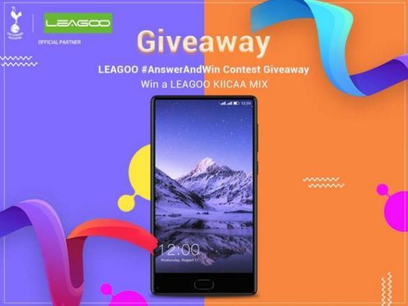 Leagoo India Answer and Win Contest – Stand Chance to Win A LEAGOO KIICAA MIX Prize