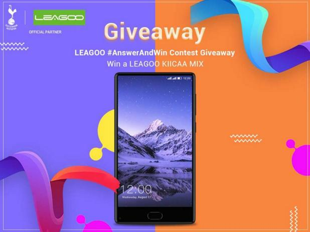 Leagoo India Answer and Win Contest – Stand Chance to Win A LEAGOO KIICAA MIX Prize