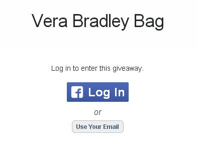 Vera Bradley Bag Giveaway– Stand Chance to Win a Vera Bradley Bag