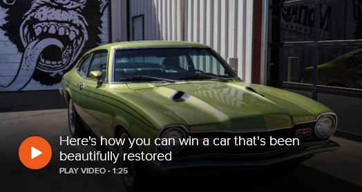 Stories from the Fast Lane Contest – Stand Chance to Win One 1974 Green Mercury Comet GT