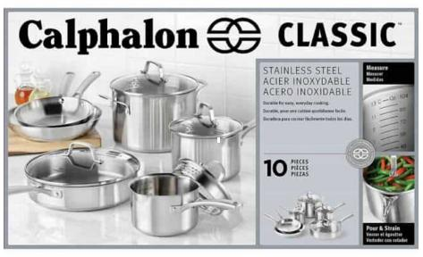 Steamy Kitchen Calphalon Cookware Set Giveaway – Stand Chance to Win Calphalon Stainless Steel Cookware Set