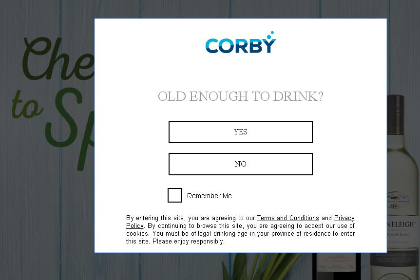 Cheers To Spring Corby Spirit And Wine Limited Contest - Chance To Win $250 VISA Gift Card